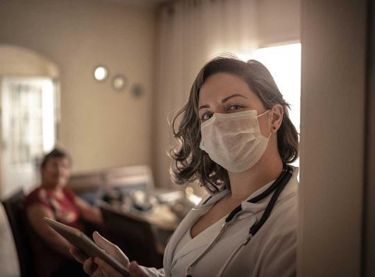 Verpleegster zorg welzijn