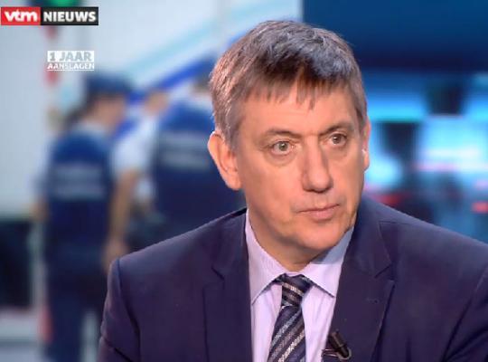 Jan Jambon in het VTM Nieuws