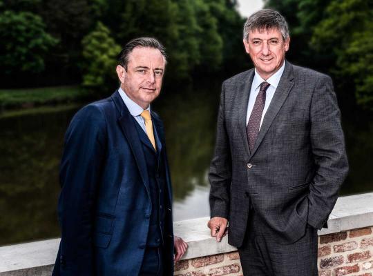 Bart De Wever en Jan Jambon
